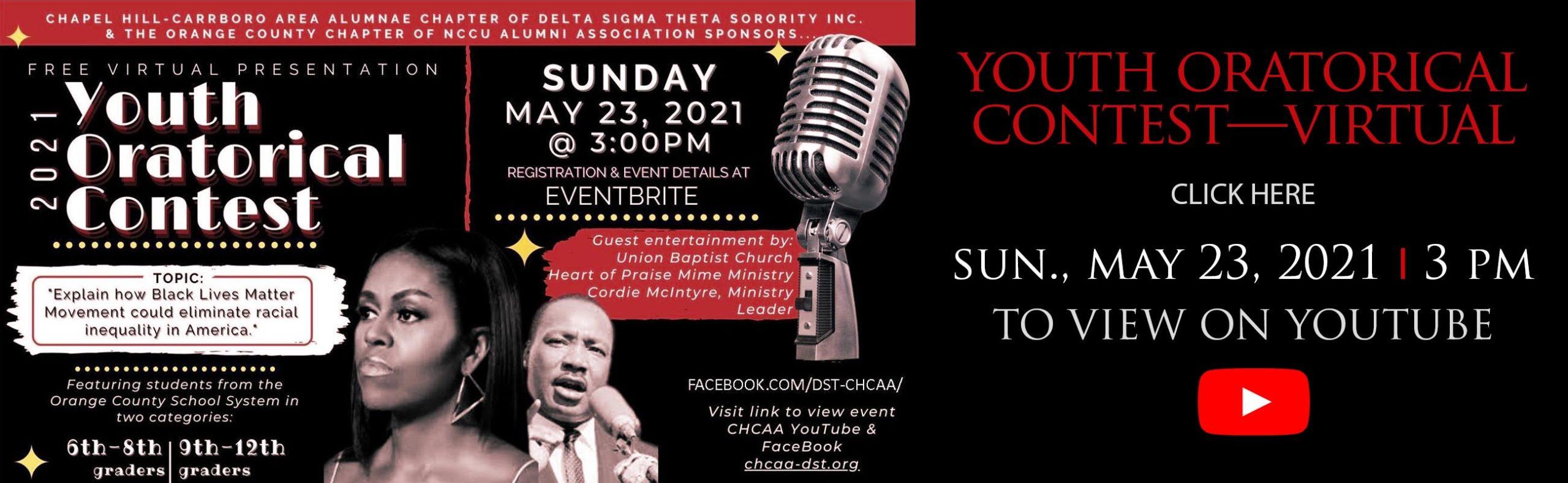 CHCAA-Youth-Oratorical-2021